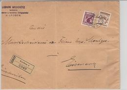 Austria Reco  3/XI/1925  D1313 - Briefe U. Dokumente