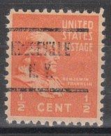 USA Precancel Vorausentwertung Preo, Locals New York, Keeseville 723 - Vereinigte Staaten