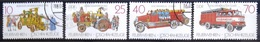 ALLEMAGNE Rep.Démocratique                  N° 2722/2725                        OBLITERE - Used Stamps