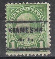 USA Precancel Vorausentwertung Preo, Locals New York, Kiamesha 703 - Vereinigte Staaten