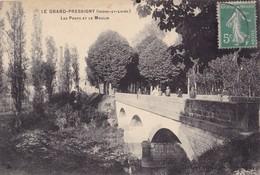 LE GRAND PRESSIGNY - Les Ponts Et Le Moulin - Le Grand-Pressigny