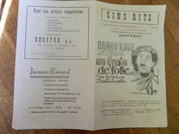 JETTE: CINEMA CINE RITZ 76 R. HENRI  WERRIESTRAAT -PUBLICITE DE FILM  UN GRAIN DE FOLIE - Publicité Cinématographique