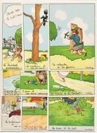 CPSM 10.5 X 15 Barre Dayez Les Fables De La Fontaine Illustrateur Starling Série Complète Des 25 Cartes - Autres Illustrateurs