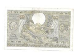 100 Fr - 10.11.38 - [ 2] 1831-... : Regno Del Belgio