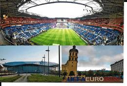 STADE FOOTBALL OLYMPIQUE LYONNAIS GROUPAMA STADIUM - LYON DECINES EURO 2016 - Calcio