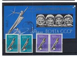 RUSSIE U.R.S.S. Espace, Petit Lot De TP Neufs** - Russia & USSR