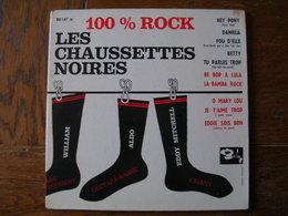 """33 Tours 25 Cm - LES CHAUSSETTES NOIRES   -  BARCLAY 80147  """" HEY PONY """" + 9 - Autres - Musique Française"""