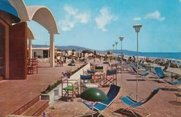 LOCRI - LIDO PLAYA CALIENTE - SPIAGGIA - ANIMATA - VIAGGIATA 1971 - Andere Städte