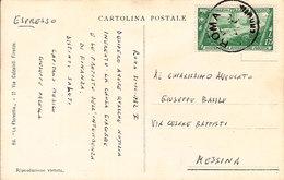"""(St.Post.)*.Regno.V.E.III.1932.Espresso """"Decennale"""" 1,25 Lire Isolato Su Cartolina Firmata Da Illustratore (32-20) - 1900-44 Victor Emmanuel III"""