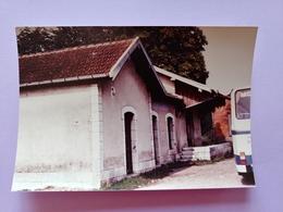 Photo Gare De Combeaufontaine 1983 Haute Saône Franche Comté - Frankreich