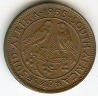 Afrique Du Sud South Africa 1/4 Penny 1955 KM 44 - Afrique Du Sud