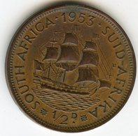 Afrique Du Sud South Africa 1/2 Penny 1953 KM 45 - Afrique Du Sud