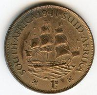 Afrique Du Sud South Africa 1 Penny 1941 KM 25 - Afrique Du Sud