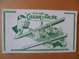 Buvard  CRAYONS CARAN D'ACHE - Buvards, Protège-cahiers Illustrés