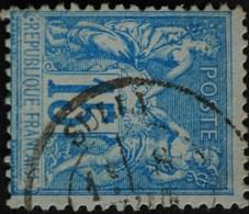 -Sage N°90 Type Ll.(CAD) O .SULLY. ( 43 ) - 1876-1898 Sage (Type II)