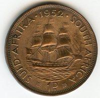 Afrique Du Sud South Africa 1 Penny 1952 KM 34.2 - Afrique Du Sud