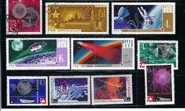 RUSSIE U.R.S.S. Espace, Petit Lot De TP Neufs** Et Obl. - Russia & USSR