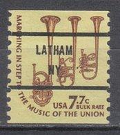 USA Precancel Vorausentwertung Preo, Bureau New York, Latham 1614-81 - Precancels