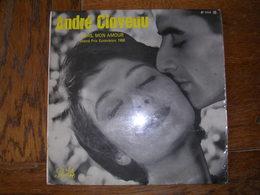 """33 Tours 25 Cm - ANDRE CLAVEAU   -  PATHE 1114  """" DORS, MON AMOUR """" + 9 ( EUROVISION 1958 ) - Otros - Canción Francesa"""