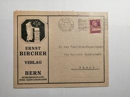 Umschlag 1921 Ernst Bircher Verlag  Bern - Suisse