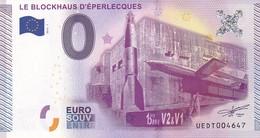 .. BILLET 2015 -1 ... LE BLOCKHAUS D'EPERLECQUES ... UEDT004647 ... - EURO