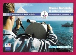 CPM.    Cart'com.   Marine Nationale.   Bureau De Caen.   Postcard. - Publicité