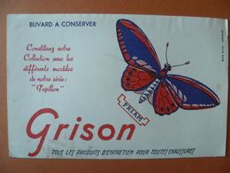 Buvard  GRISON - Buvards, Protège-cahiers Illustrés