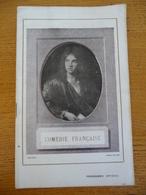 """Programme THEATRE De 1928 - COMEDIE FRANCAISE """""""""""" TARTUFFE - LE JEU DE L'AMOUR ET DU HASARD """""""""""" - Théâtre"""