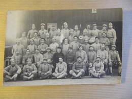Carte  Photo -  SAINT DIZIER ? - Au Dos : TON PERE AUX CANONS A ST DIZIER 1917 - Saint Dizier