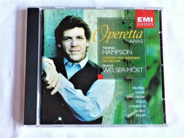 Thomas HAMPSON, Operetta Arias, Franz Welser-Most, Avec Livret - Opera