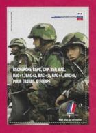 CPM.    Cart'com.   Armée De Terre.   Bureau De Caen.   Recrutement.   Postcard. - Publicité