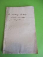 """Fascicule Théâtre/""""Le Mensonge Excusable""""/Comédie En Un Acte Et En Prose/C.J. GUILLEMAIN/ Cailleau/1783        FAT15 - 1701-1800"""