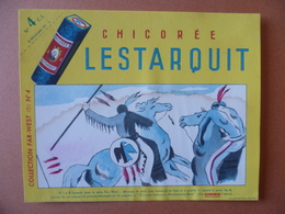 Buvard  CHICOREE LESTARQUIT - Buvards, Protège-cahiers Illustrés