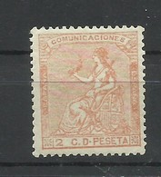 ESPAÑA  EDIFIL  131   MNH  **  (FIRMADO SR. CAJAL, MIEMBRO DE IFSDA) - 1873 1. Republik