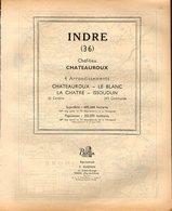 ANNUAIRE - 36 - Département Indre  - Année 1953 - édition Didot-Bottin - 72 Pages - Annuaires Téléphoniques