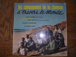 """33 Tours 25 Cm - LES COMPAGNONS DE LA CHANSONS   -  COLUMBIA 1084  """" FAIS TA PRIERE """" + 9 - Autres - Musique Française"""