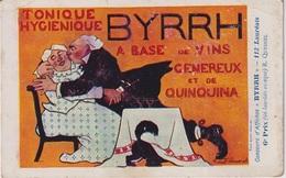 CPAG - BYRRH TONIQUE HYGIENIQUE - Publicité