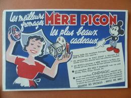 Buvard  Les Meilleurs Fromages MÈRE PICON - Buvards, Protège-cahiers Illustrés
