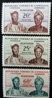 Cameroun Cameroon 1962 Réunification Président Ahidjo Premier Ministre Foncha Yvert 329-331 * MLH - Kamerun (1960-...)