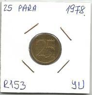 Yugoslavia 25 Para 1978. R153 Trial Strike RRR - Yugoslavia