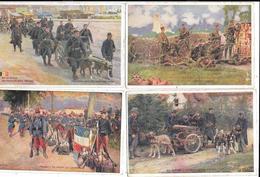 11486 - Lot De 10 Bon Point Patriotique, Thème Militaria, Guerre - Guerra 1914-18