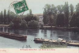 SAINT-FARGEAU - SEINE-PORT - Les Bords De La Seine - Saint Fargeau Ponthierry