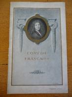 """Programme THEATRE De 1922 - COMEDIE FRANCAISE """""""""""" LE MARIAGE DE FIGARO """""""""""" - Théâtre"""