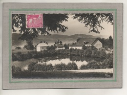 CPS - (88) SAINT-ETIENNE-de-REMIREMONT -Vue De L'étang(ruisseau De Seux) Du Quartier De Ste-Claire Et St-Romary En 1957 - Saint Etienne De Remiremont