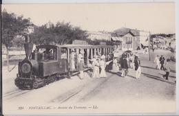 Pontaillac Royan - Arrivée Du Tramway LL 234 Petit Train Locomotive - Royan