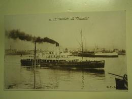 Carte Postale Ancienne,Le Havre,le Trouville,non écrite,thème Navire,très Bel état - Le Havre