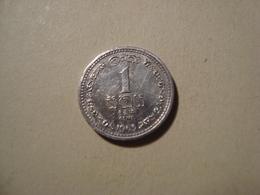 MONNAIE SRI LANKA 1 CENT 1963 - Sri Lanka