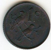Afrique Du Sud South Africa 1 Cent 1966 KM 65.1 - Afrique Du Sud