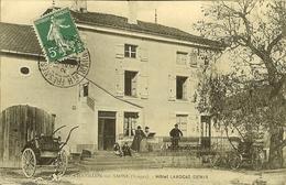 """CP  De CHATILLON-sur-SAONE """" Hôtel LAVOCAT - DENIS """" - Darney"""