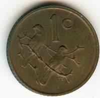 Afrique Du Sud South Africa 1 Cent 1978 KM 82 - Afrique Du Sud